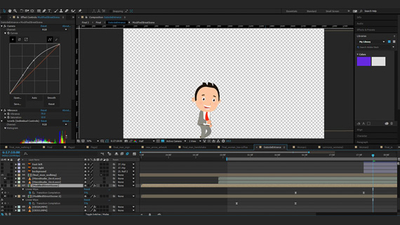 Editing screen for Servcorp character