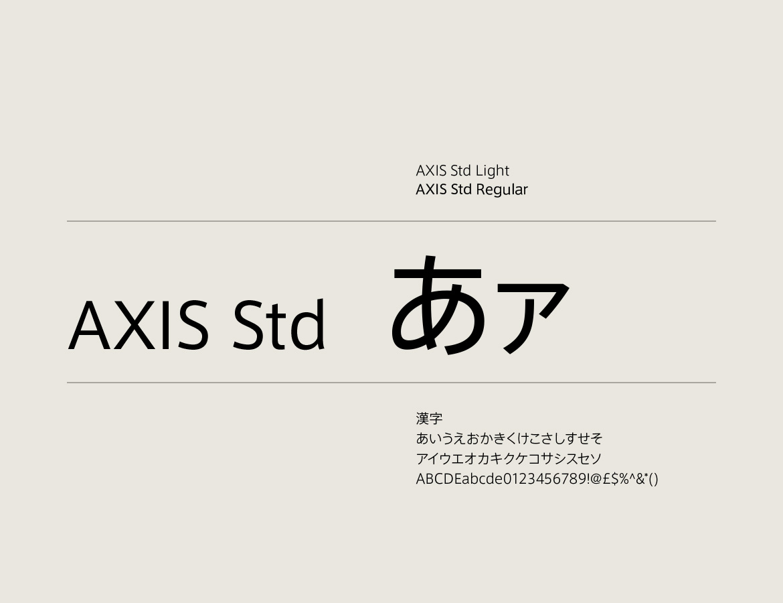 Tri-Seven Roppongiの日本語フォント