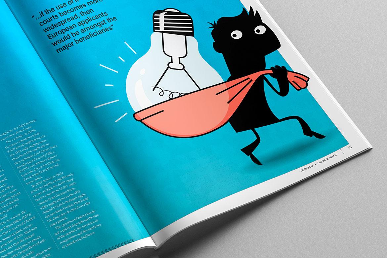 Magazine image of Eurobiz Japan