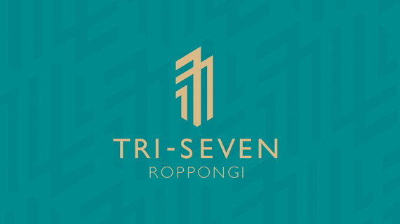 Banner design for Tri-Seven Roppongi