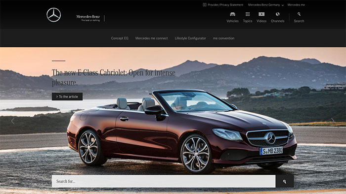The image of Mercedes Benz